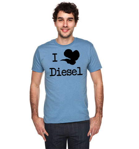 I heart diesel model male sq