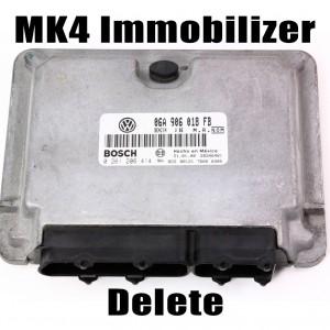 mk4 immo delete